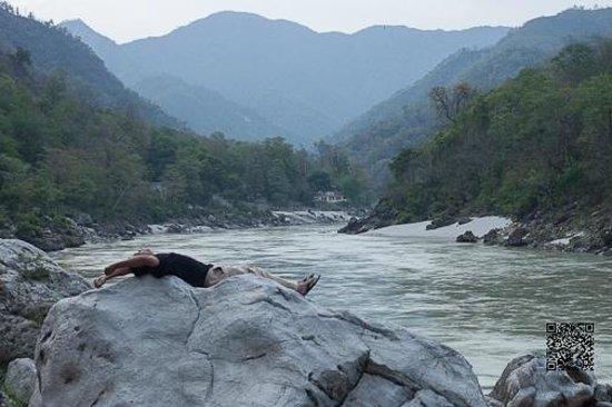 Rainforest House - Rishikesh: The Ganges