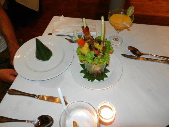 Navutu Dreams Resort & Wellness Retreat: repas soir