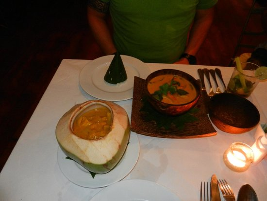 Navutu Dreams Resort & Wellness Retreat : repas soir