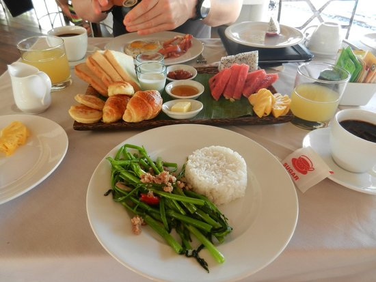 Navutu Dreams Resort & Wellness Retreat : petit dej