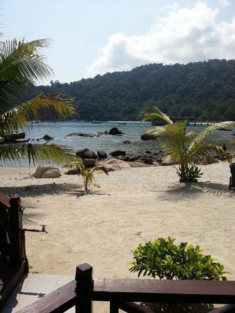 Coral View Island Resort: View from the executive chalet