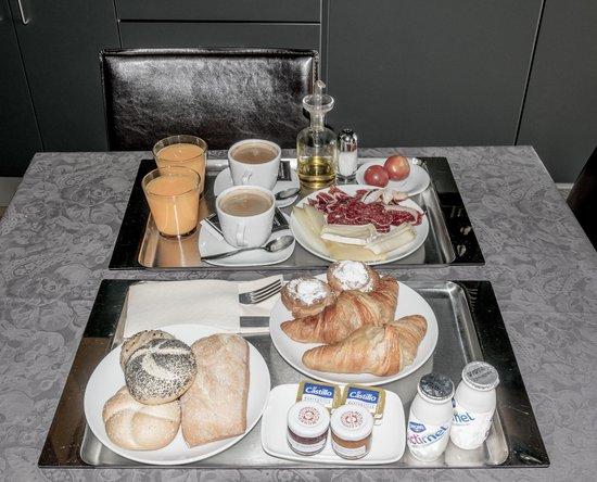 Nord 1901: Desayuno en la habitacion