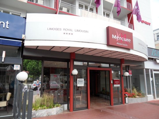 Mercure Limoges Royal Limousin Hotel : Hotel front