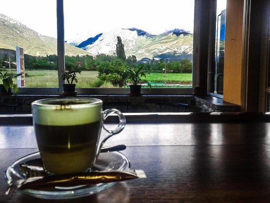 Hostal El Rebos de Campo: Vista desde el bar