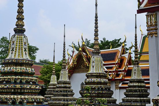Temple du Bouddha Couché (Wat Pho) : Temple of the Reclining Buddha (Wat Pho)