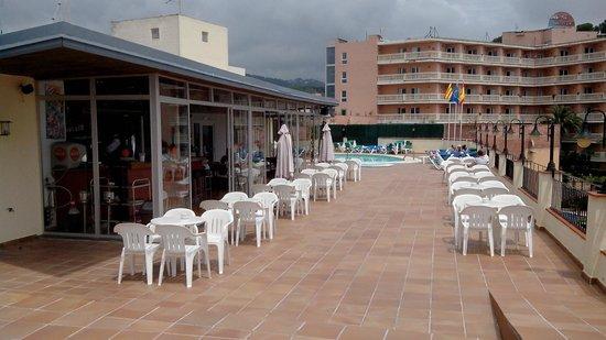 Santa Rosa: Bar et terrasse