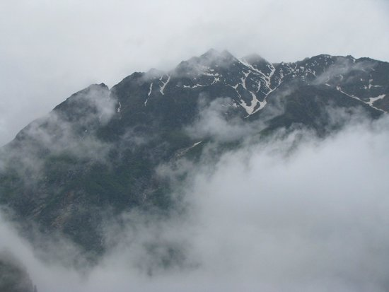 Kinner Camp Sangla: Another View of the snow capped mountains from our tent