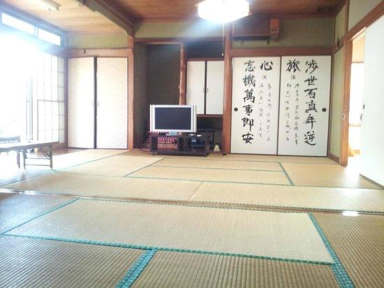 Minshuku Itakura : 22畳(22mats tatami)