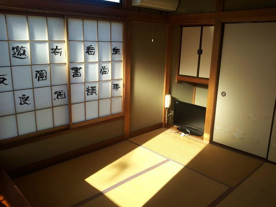 Minshuku Itakura : 6畳(6mats tatami)