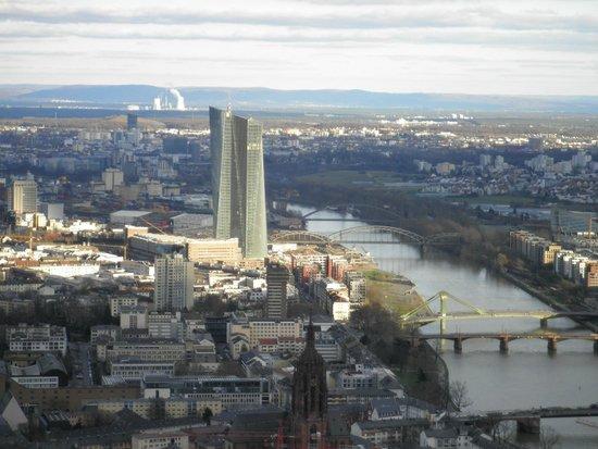 Main Tower: Banco central Europeu, rio Main.