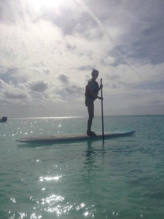 Club Med Turkoise, Turks & Caicos : Peddle boarding