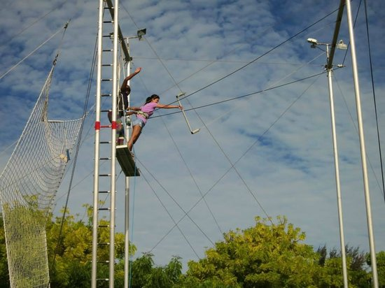 Club Med Turkoise, Turks & Caicos : I was doing trapeze