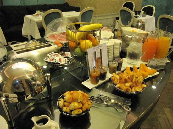Hotel De Buci by MH : Breakfast buffet