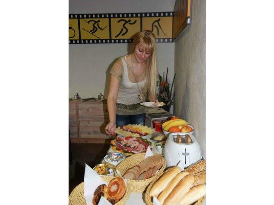 Bed & Breakfast Penzion Brno: Breakfast