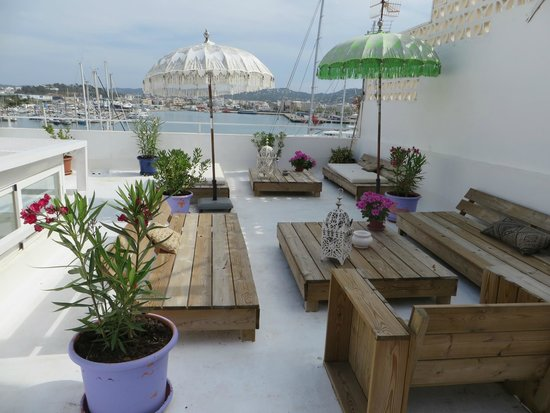La Dama d'Eivissa: la terrasse