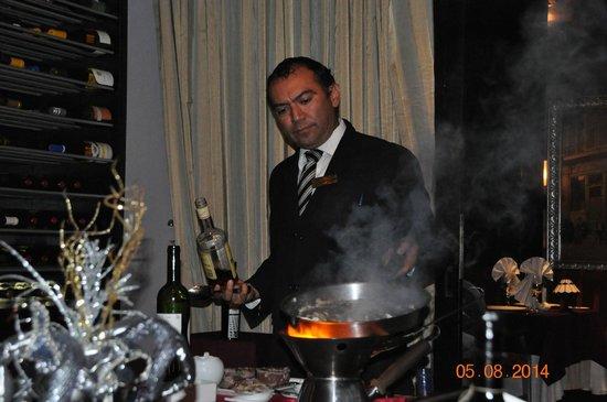Secrets Silversands Riviera Cancun: Juan Jose, the exceptional manager of Bordeaux Restaurant