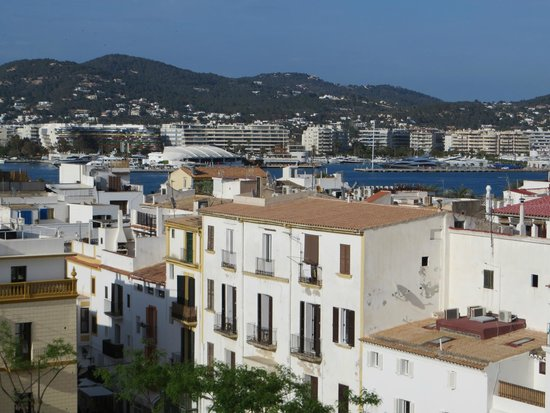 La Dama d'Eivissa: vue de la citadelle
