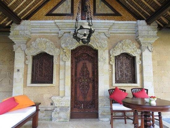 Pita Maha Resort and Spa: Villa Eingang