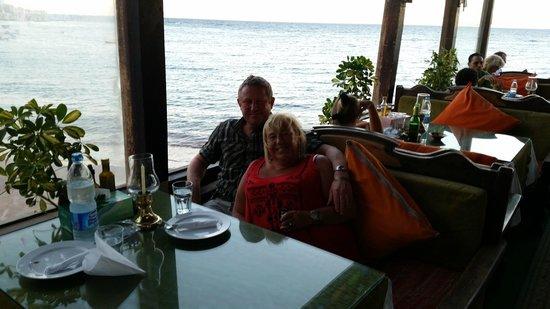 Shark Restaurant : Lovely setting for a romantic dinner