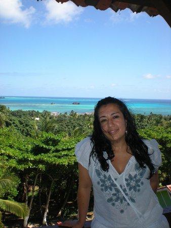 Sol Caribe Campo: la vista desde el cuarto