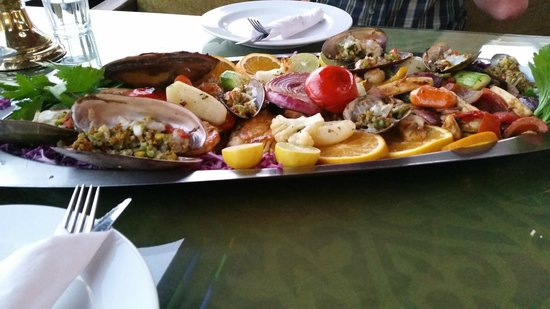 Shark : Seafood Platter - beautifully fresh and well cooked