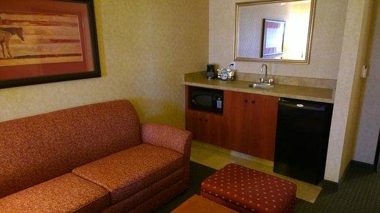 Hampton Inn Laramie: Living space