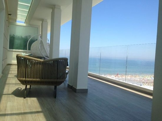 Ambasciatori Hotel: Terrazza view
