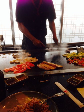 Kobe Hibachi Sushi Asian Cuisine: Hibachi.