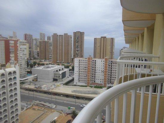 Sol Pelícanos Ocas: view from our room