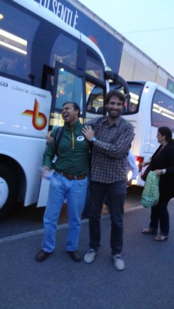 Walkabout Florence Tours : the ever crazy Stefano!! - our guide for the day