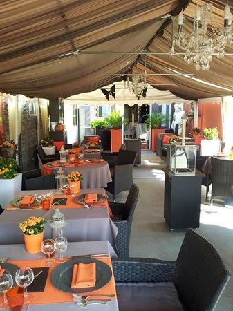 la table d 39 or la louviere restaurant avis num ro de. Black Bedroom Furniture Sets. Home Design Ideas