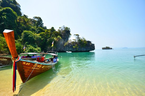 thai boat - Picture of Pak Bia Island, Nong Thale - TripAdvisor