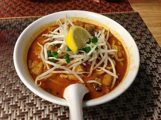 Sakura Asian Express: Singapore Curry Noodle Soup