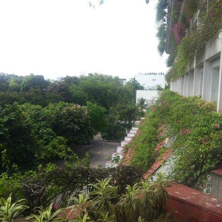 Taj Bengal Kolkata: View from Room - No pool visible