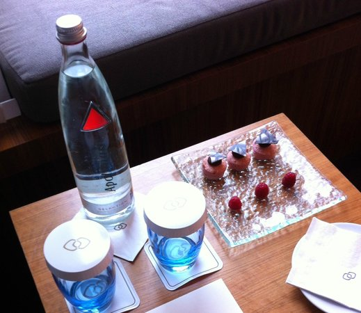 Sofitel Berlin Kurfürstendamm: In-room welcome snack
