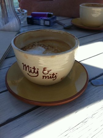 Mitj & Mitj : Leckerer Kaffee