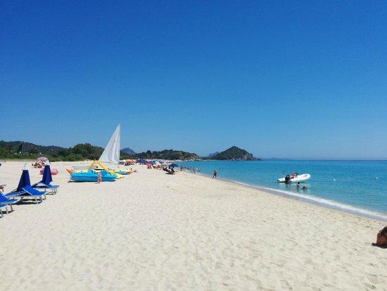 Hotel Garden Beach : Strand