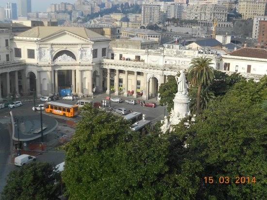 Grand Hotel Savoia: View - Train Station