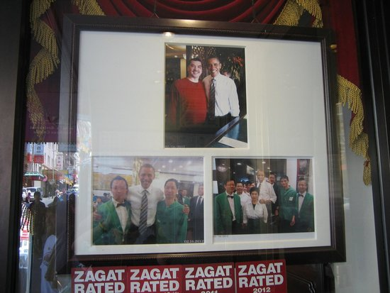 Great Eastern Restaurant : Obama was here!!