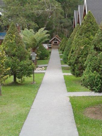 Pousada Serras de Monte Verde: Jardim Central 2
