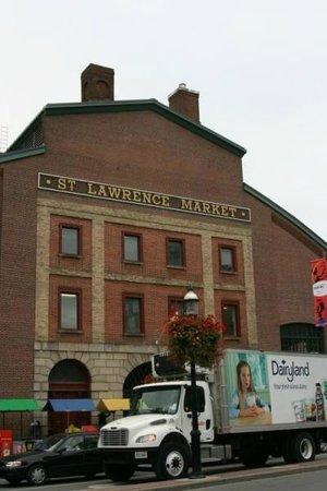 Mercado de St. Lawrence: 外観