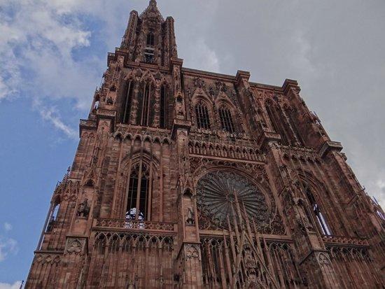 Liebfrauenmünster zu Straßburg (Cathédrale Notre-Dame de Strasbourg): Catedral de Estrasburgo