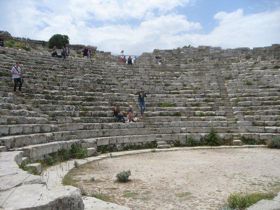 Tempio di Segesta (Tempio Influenza Greca): het amfitheater