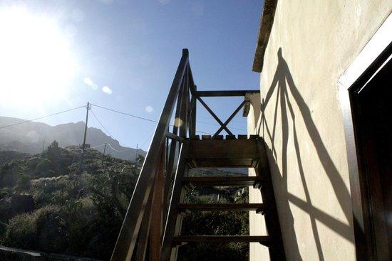 Hotel Rural Finca la Raya : Subida azotea suite Drago