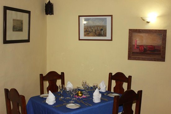 Hotel Rural Finca la Raya : Interior del comedor