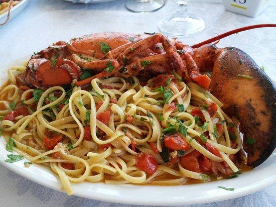 Al Faro da Corrado: Linguine all astice