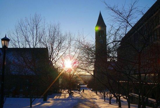 Cornell University: Sunset