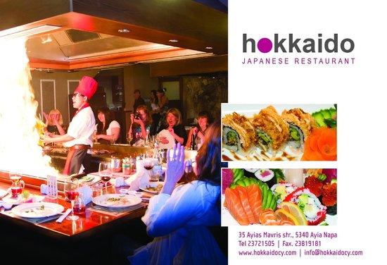 Hokkaido : Sushi and Teppanyaki