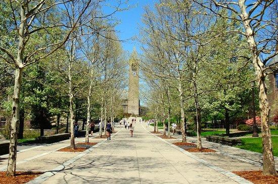 Cornell University: Ho Plaza