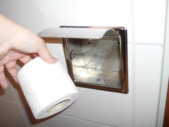 Balneo Hotel Zsori Thermal & Wellness: Toilett paper holder (without holder)